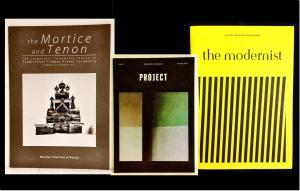 the mortice and tenon, project, the modernist