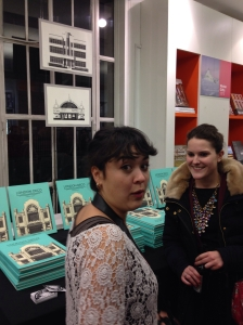 Angela from Nobrow and lucy from PGUK