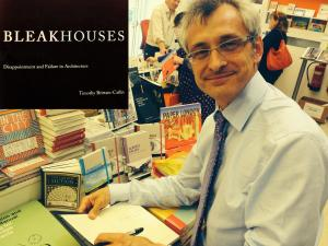 "Timothy Brittain-Catlin signing copies of ""Bleakhouses"""