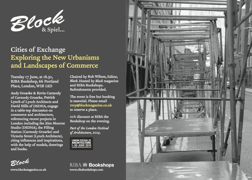 block event flyer