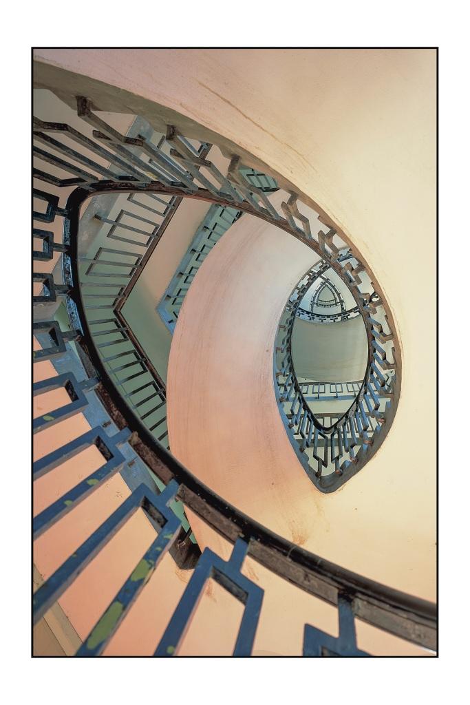Morley 5 DORSET ESTATE STAIR BY BERTHOLD LUBETKIN