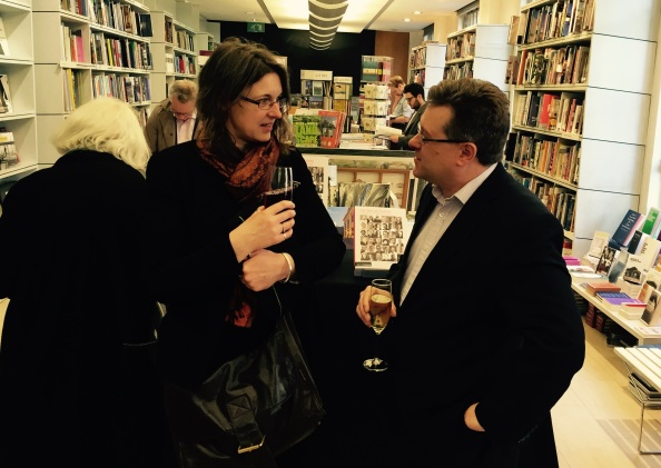 Carol Pyrah from English Heritage with Director of RIBA Publishing Steven Cross